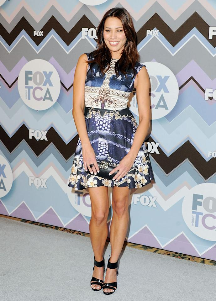 Michaela Conlin arrives at the 2013 Winter TCA FOX All-Star Party at The Langham Huntington Hotel and Spa on January 8, 2013 in Pasadena, California.