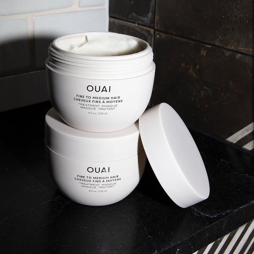 <p>Add hydration and nourishment without the weighing your hair down with the <span>OUAI Treatment Mask for Fine and Medium Hair</span> ($38). It helps restore hydration, repair damage, and add shine. </p>