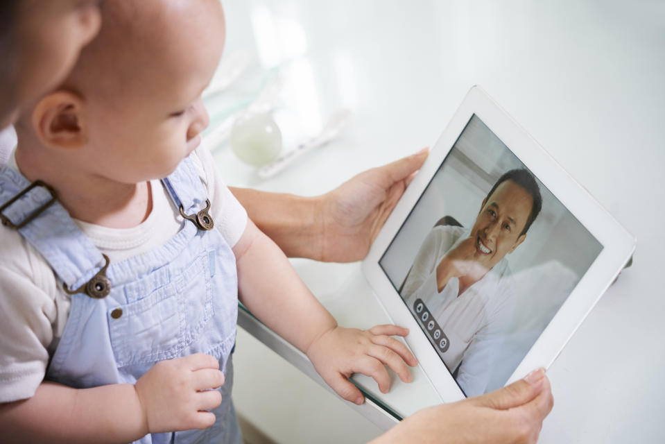 Experts also urge patients to connect with their doctors during this time, given that they may have specific advice for your illness, using trusted platforms like telemedicine. (Photo: Getty Creative)