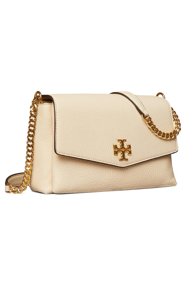 """<br> <br> <strong>Tory Burch</strong> Small Kira Leather Convertible Crossbody Bag, $, available at <a href=""""https://go.skimresources.com/?id=30283X879131&url=https%3A%2F%2Fwww.nordstrom.com%2Fs%2Ftory-burch-small-kira-leather-convertible-crossbody-bag%2F5707135"""" rel=""""nofollow noopener"""" target=""""_blank"""" data-ylk=""""slk:Nordstrom"""" class=""""link rapid-noclick-resp"""">Nordstrom</a>"""