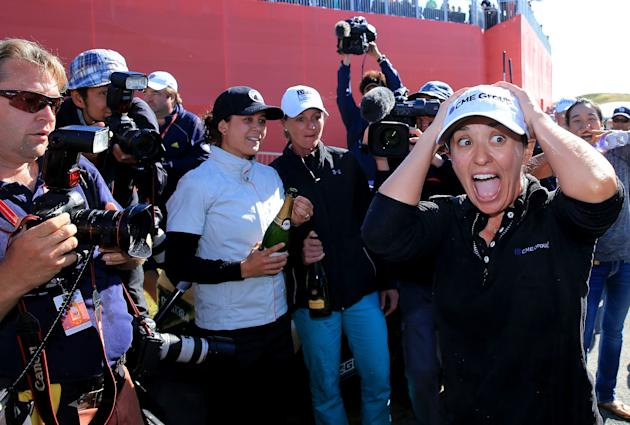 Mo Martin was the surprise winner at the Women's British Open. (Getty Images)