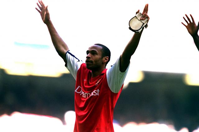 <p>Henry and the Arsenal side won the Premier League title, seven points clear of Liverpool. The Frenchman hit 24 goals in 33 games. </p>