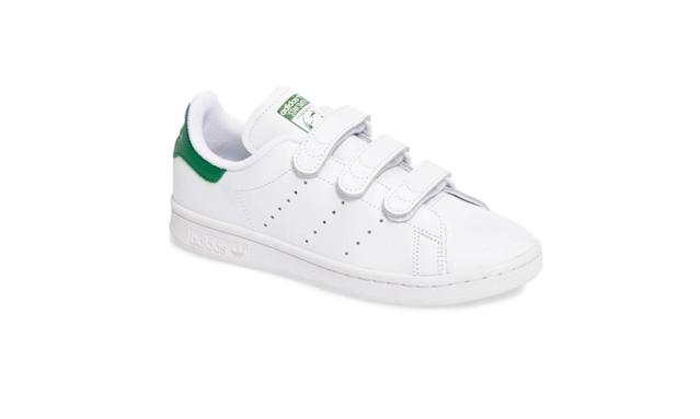 "<p>Stan Smith CF Sneaker, $80, <a href=""http://shop.nordstrom.com/s/adidas-stan-smith-cf-sneaker-women/4488724?origin=keywordsearch-personalizedsort&fashioncolor=WHITE%2F%20WHITE%2F%20GREEN"" rel=""nofollow noopener"" target=""_blank"" data-ylk=""slk:nordstrom.com"" class=""link rapid-noclick-resp"">nordstrom.com</a> </p>"