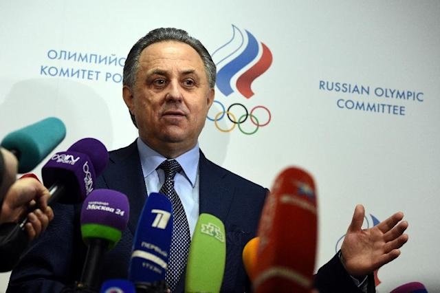 Russia's Sports Minister Vitaly Mutko is barred from Rio because of the doping controversy (AFP Photo/Vasily Maximov)