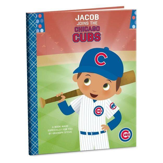 Get the young baseball fan in your life a personalized book about their favorite team. (Hallmark)