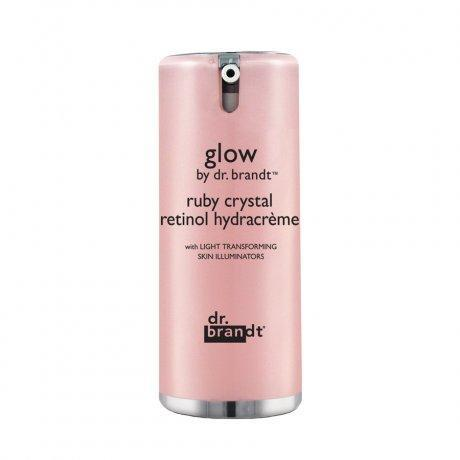 "<p>This radiance-building cream has micronized ruby crystals that reflect light against your skin and give off a soft-focus glow that's contagious. $65, <a href=""https://www.dermstore.com/product_Glow+by+Dr+Brandt+Ruby+Crystal+Retinol+Hydracreme_53749.htm"" rel=""nofollow noopener"" target=""_blank"" data-ylk=""slk:dermstore.com"" class=""link rapid-noclick-resp"">dermstore.com</a> (Photo: Dr. Brandt) </p>"