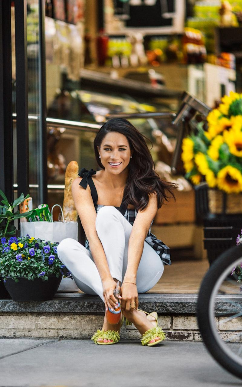 Meghan Markel talks to Good Housekeeping magazine about roast chicken, vegan leather and hand-written notes - Credit: Bryan Derballa/Good Housekeeping