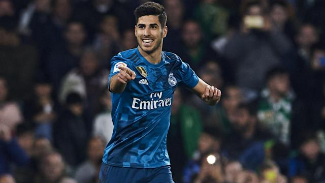 Marco Asensio's second goal of a 5-3 win over Real Betis brought up the milestone of 6,000 LaLiga goals for Real Madrid on Sunday.