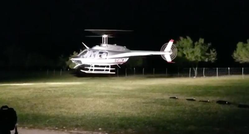 Texas couple dies in helicopter crash moments after their wedding