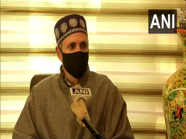 National Conference leader Omar Abdullah in conversation with ANI. (Photo/ANI)