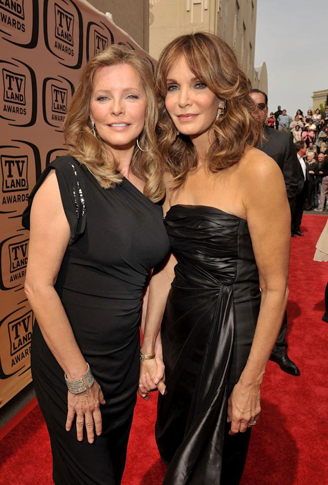 "Cheryl Ladd and Jaclyn Smith (""Charlie's Angels"") arrive at the <a href=""/the-8th-annual-tv-land-awards/show/46258"">8th Annual TV Land Awards</a> held at Sony Studios on April 17, 2010 in Culver City, California. The show is set to air Sunday, 4/25 at 9pm on TV Land."