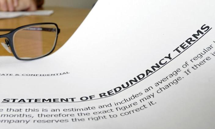 "<span class=""element-image__caption"">A statement of redundancy terms.</span> <span class=""element-image__credit"">Photograph: Rosemary Roberts/Alamy</span>"