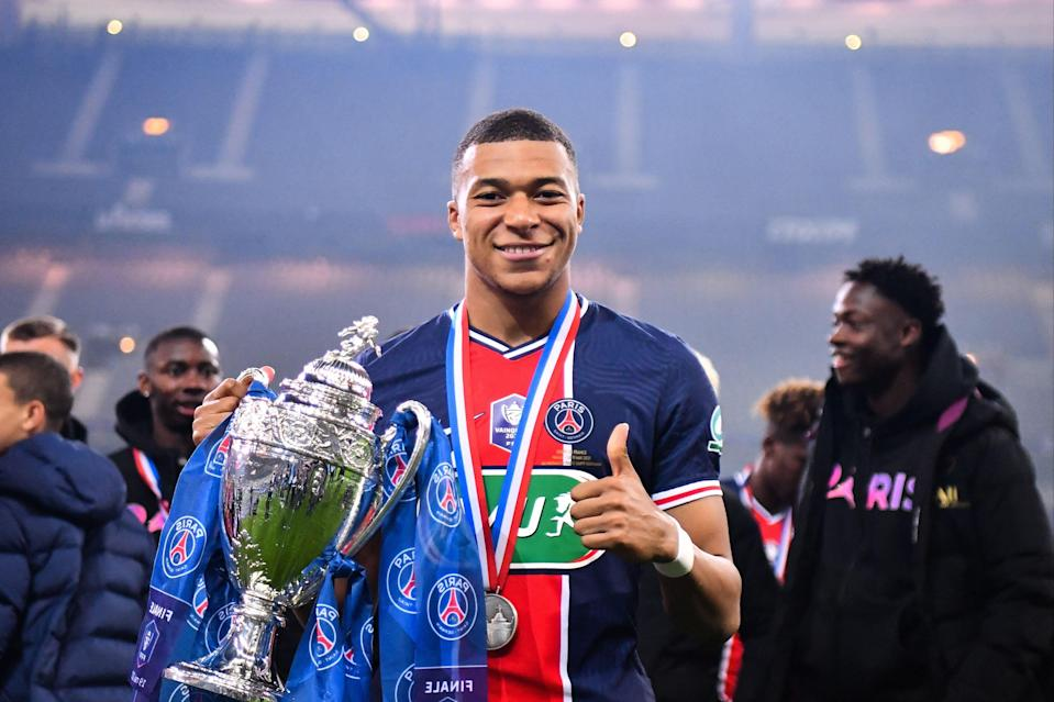 <p>Kylian Mbappe starred for PSG</p> (AFP via Getty Images)