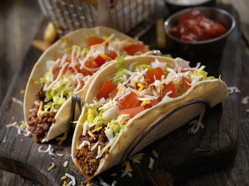 """Urban Taqueria, an Albuquerque restaurant offers menu items such as """"Lock Her Up"""" and """"Fake News."""" (Photo: Getty Images)"""