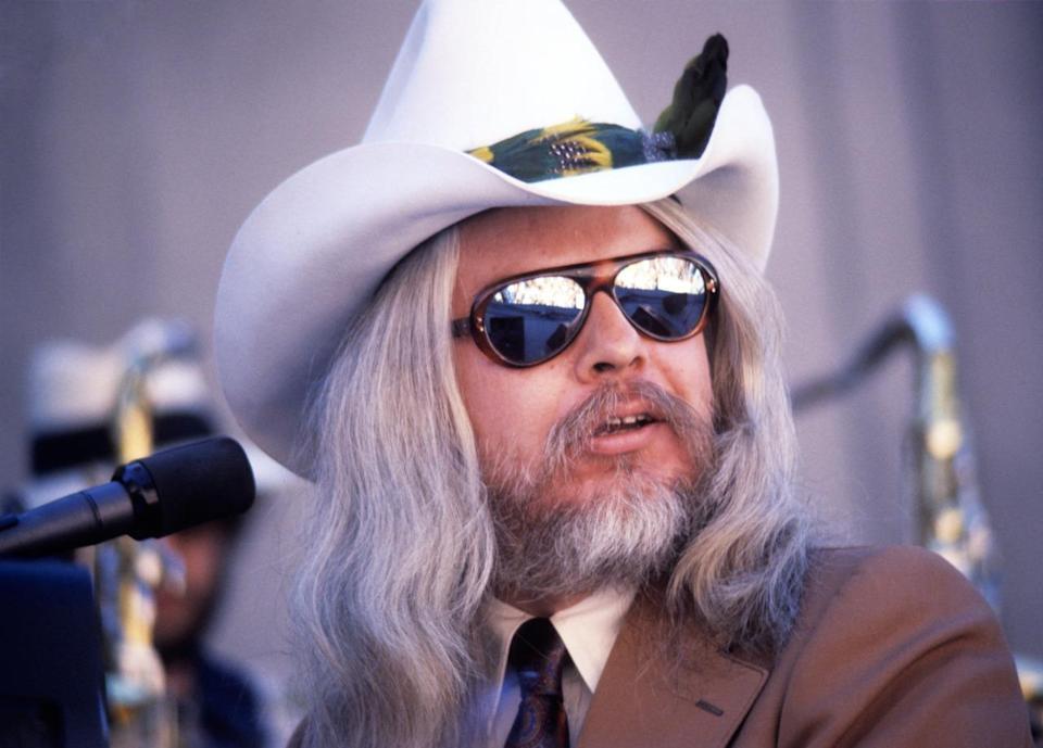 """Leon Russell was an American musician and songwriter who wrote or co-wrote such classics as """"Delta Lady,"""" """"A Song for You,"""" and """"Superstar."""" Over the years, he worked with with Elton John, the Beach Boys, John Lennon, Ringo Starr, George Harrison, Bob Dylan, the Rolling Stones, and many more. He recorded 31 albums and 430 songs over his long career, before dying on Nov. 13 while recovering from heart surgery. He was 74. (Photo: Getty Images)"""