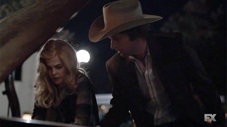 Keri Russell as Elizabeth Jennings and Matthew Rhys as Philip Jennings in FX's The Americans. (Screengrab: FX)