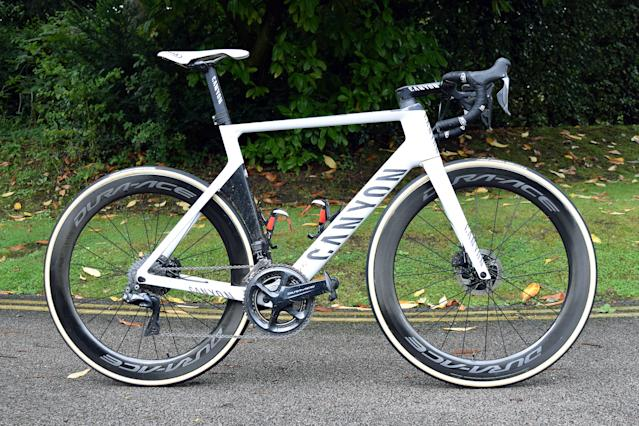 Canyon road bikes: Mathieu van der Poel Canyon Aeroad