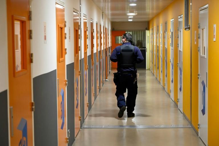 Once a year, inmates at Baumettes prison in the southern French city of Marseille get together with their children in the prison's large gymnasium for a day of fun, organised by support groups
