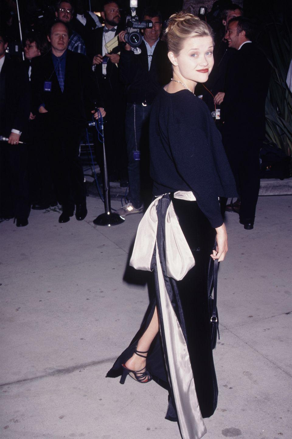 <p>Business in the front and a party in the back was the look for a Hollywood event. </p>