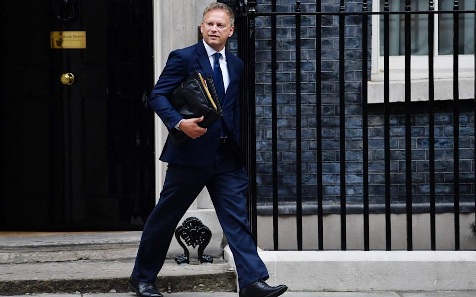 Mr Shapps blamed the pandemic for the shortage of drivers and said Brexit was not part of the problem - BEN STANSALL/AFP via Getty Images