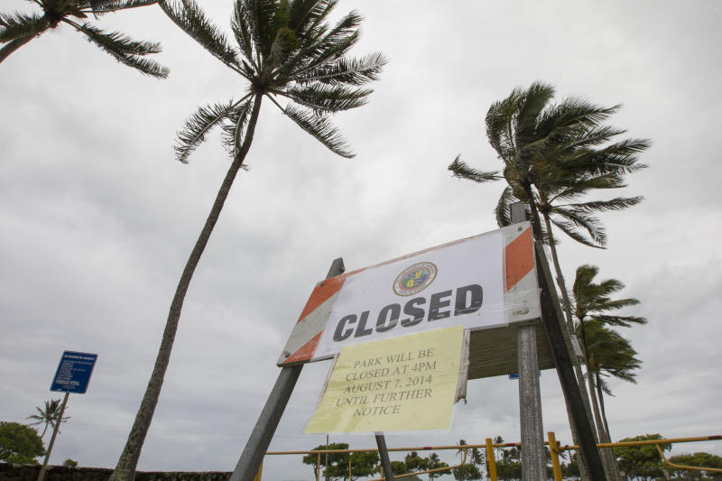 How tropical weather shook up an island paradise