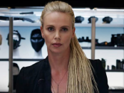 <p>Yup, that is Charlize Theron in blonde dredlocks as Cipher, a cyber terrorist who is introduced to the <em>Fast</em> <em>and Furious</em> crew in the 2017 film, <em>The Fast of Furious</em>. </p>