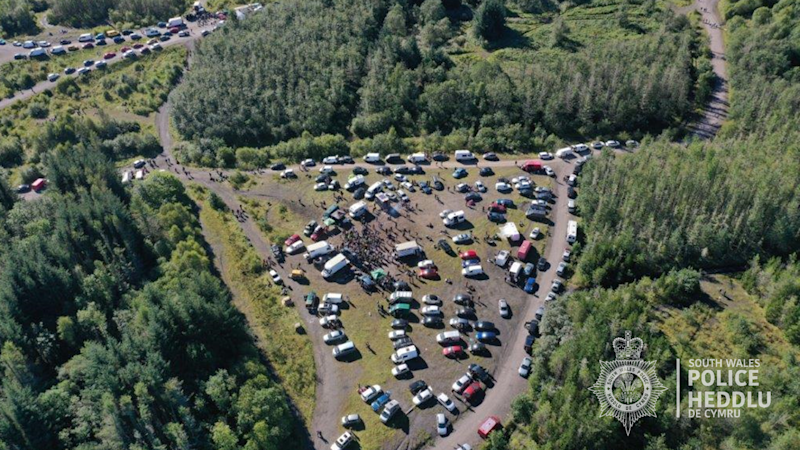 Organisers of Brecon Beacons rave face hefty fines