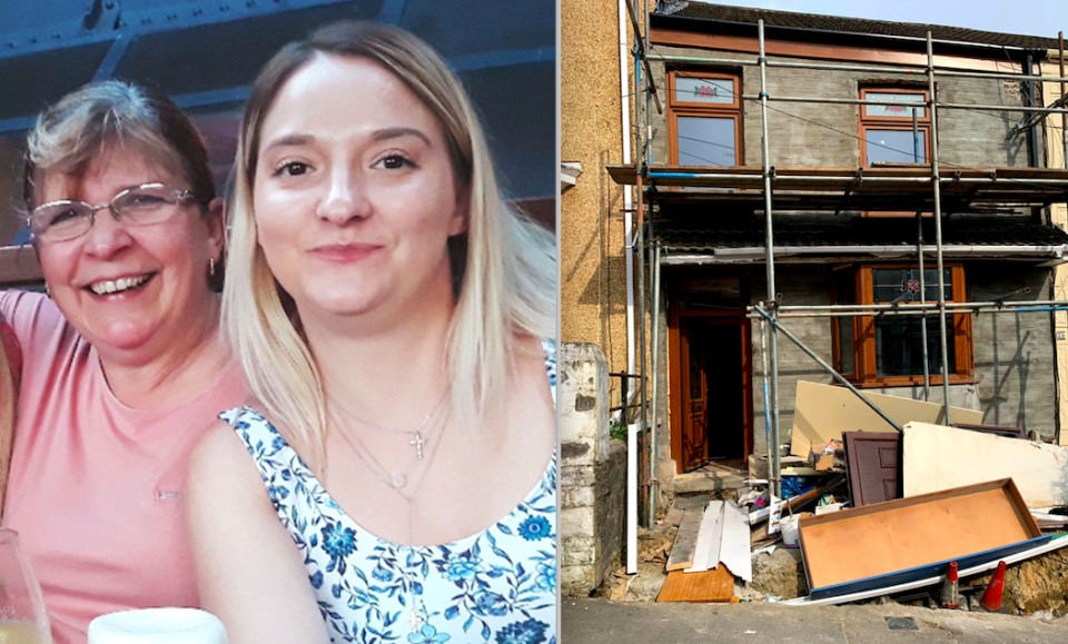 Nichola Evans claims her home was ruined by a bungling builder (Caters)
