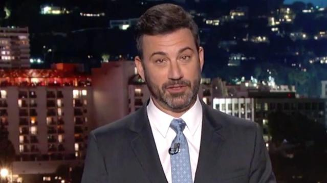 Jimmy Kimmel launched a new salvo in his feud with Donald Trump, this time questioning the president's intelligence.