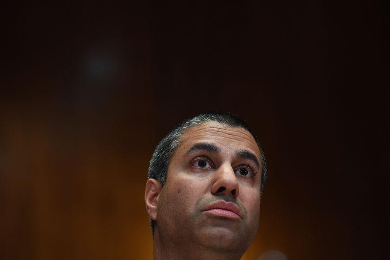 U.S. Federal Communications Commission Chairman (FCC) Ajit Pai testifies at Senate Appropriations Subcommittee hearing on the proposed budgets for the FCC and the FTC on Capitol Hill in Washington