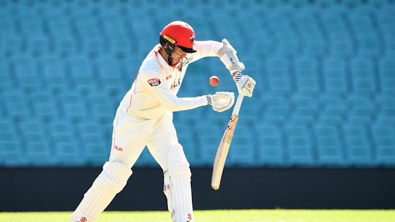 Tom Cooper (87no) has put South Australia in a strong position in the SCG Shield game against NSW