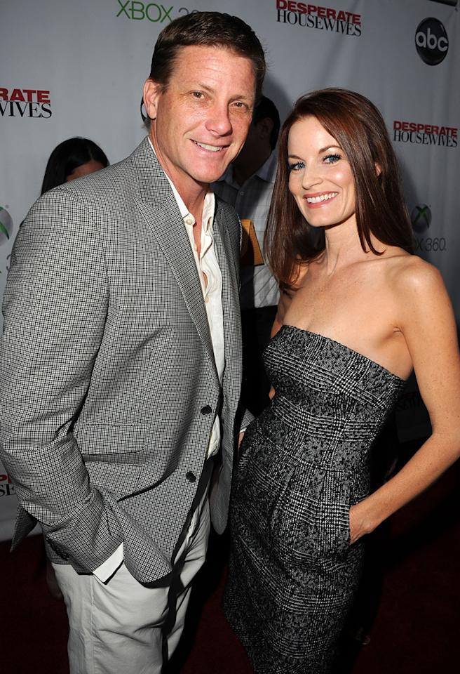 "HOLLYWOOD, CA - APRIL 29:  Laura Leighton and Doug Savant attends ""Desperate Housewives"" Series Finale at W Hollywood on April 29, 2012 in Hollywood, California.  (Photo by Steve Granitz/WireImage)"