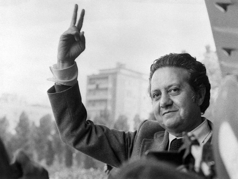 Portuguese socialist leader Mario Soares is pictured on May 15, 1974 in Lisbon just before being appointed foreign Minister (AFP Photo/)