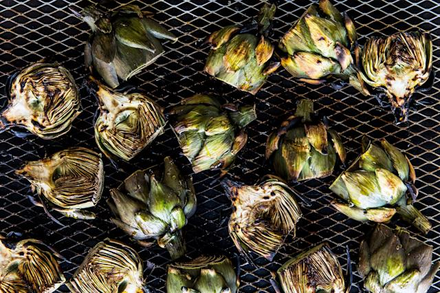 "<h1 class=""title"">grilled-baby-artichokes-with-aleppo-pepper-and-parmesan</h1> <cite class=""credit"">Alex Lau</cite>"