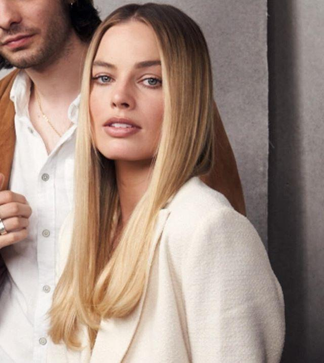 """<p>One of the advantages of thin hair is that it lays flat on your head—take advantage by wearing your hair straight and parted down the middle like Margot Robbie. </p><p><a href=""""https://www.instagram.com/p/Bwz_UQZFlKN/"""" rel=""""nofollow noopener"""" target=""""_blank"""" data-ylk=""""slk:See the original post on Instagram"""" class=""""link rapid-noclick-resp"""">See the original post on Instagram</a></p>"""