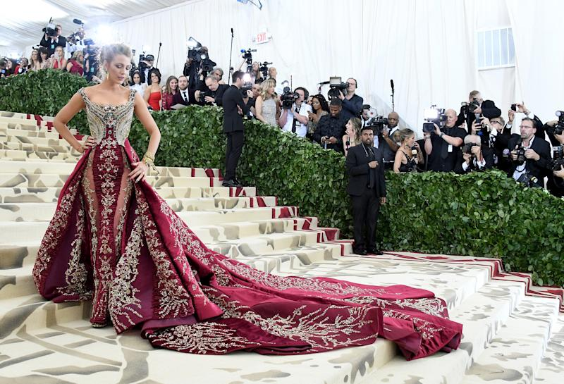 The dress took 600 hours to make. (Getty Images)