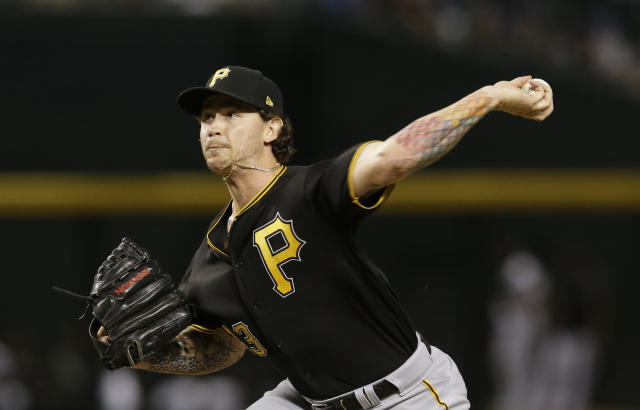 Steven Brault is in his third season as a member of the Pittsburgh Pirates. (AP)