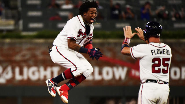 All-Star Ronald Acuna delivered a walk-off single as the Atlanta Braves topped the Miami Marlins on Thursday.