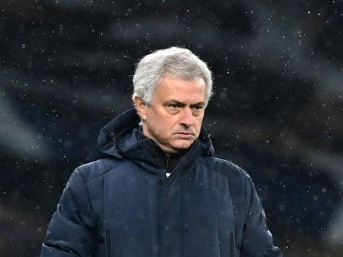 Jose Mourinho has bemoaned the current absentees at Spurs (Getty)
