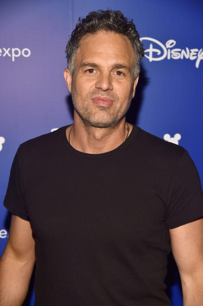 ANAHEIM, CA - JULY 15: Actor Mark Ruffalo of AVENGERS: INFINITY WAR took part today in the Walt Disney Studios live action presentation at Disney's D23 EXPO 2017 in Anaheim, Calif. AVENGERS: INFINITY WAR will be released in U.S. theaters on May 4, 2018. (Photo by Alberto E. Rodriguez/Getty Images for Disney)