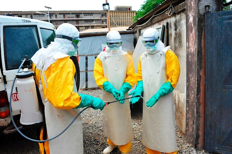 The four confirmed cases are the first in Guinea since the country was declared Ebola free at the end of last year, though a significant number of deaths are believed to have gone unreported (AFP Photo/Cellou Binani)