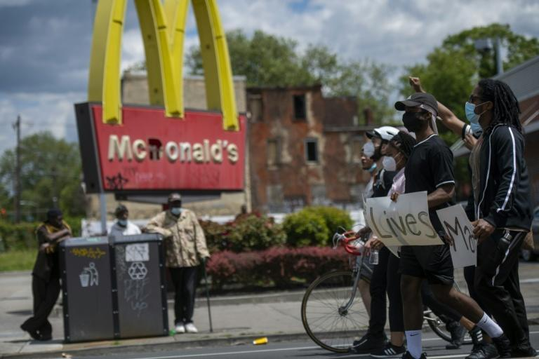 McDonald's has come out in support of protests against racial injustice in the United States