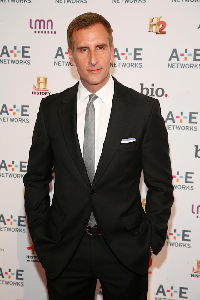"Brian Unger (History's ""How The States Got Their Shapes"") attends the A&E Networks 2012 Upfront at Lincoln Center on May 9, 2012 in New York City."