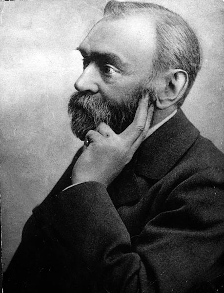 Inventor Alfred Nobel who founded the Nobel Prize (AFP Photo/)