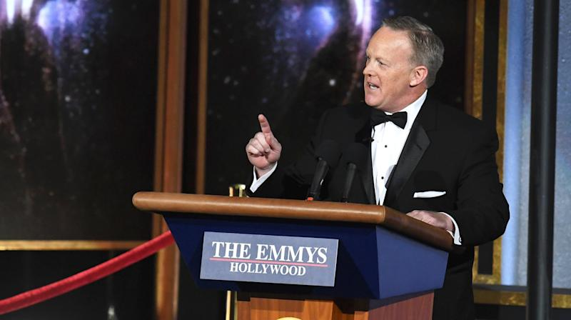 Here's How Sean Spicer Got On The Emmys