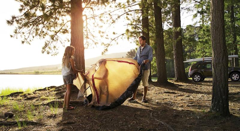 The best tents for a back-to-basics 2020 summer holiday. (Getty Images)