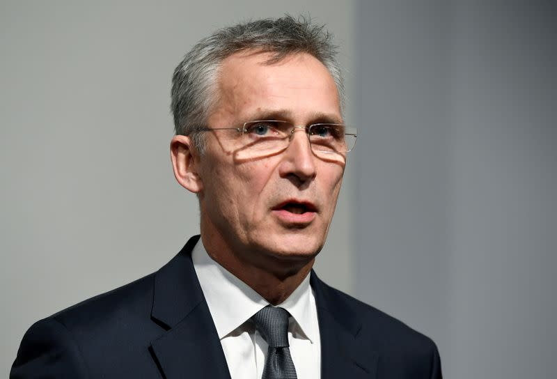 NATO seeks to speed up medical aid deliveries, wary of Russian drills