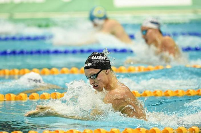 Australia's Zac Stubblety-Cook swam the second fastest 200m breaststroke of all time