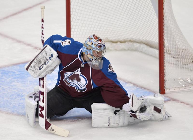 Assault charge filed against Avalanche goalie