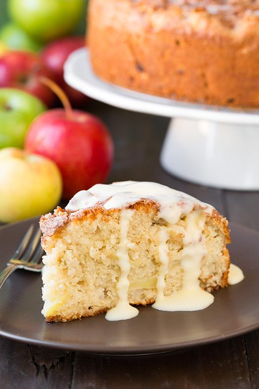 "<p>One of Ireland's most popular desserts, the spiced apple cake is known for its crunchy sugar crust. Tart Granny Smith apples keep the cake from being too sweet, and a blend of ginger, nutmeg, and allspice make each bite warm and comforting. Serve directly from the oven, with a generous drizzle of custard sauce.<br /> <br /> Recipe and photo from <a rel=""nofollow"" href=""http://www.cookingclassy.com/"">Cooking Classy</a>. Get the recipe <a rel=""nofollow"" href=""http://www.cookingclassy.com/2014/10/irish-apple-cake-custard-sauce/"">here</a>.</p>"